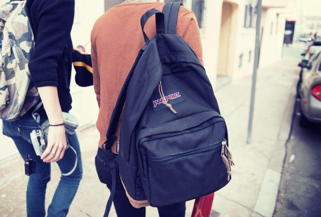 What are Jansport backpacks made of