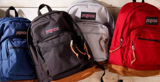 What are Jansport backpacks made of?