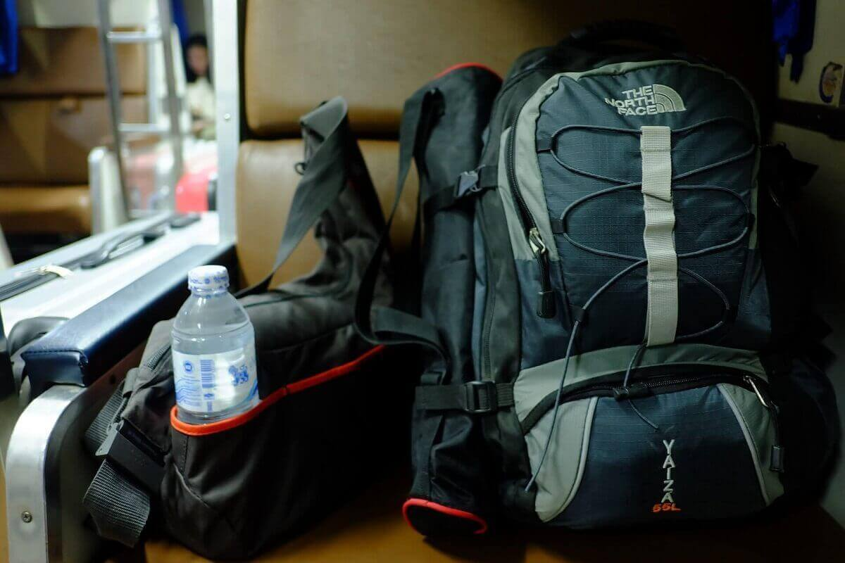 How to clean a hiking backpack