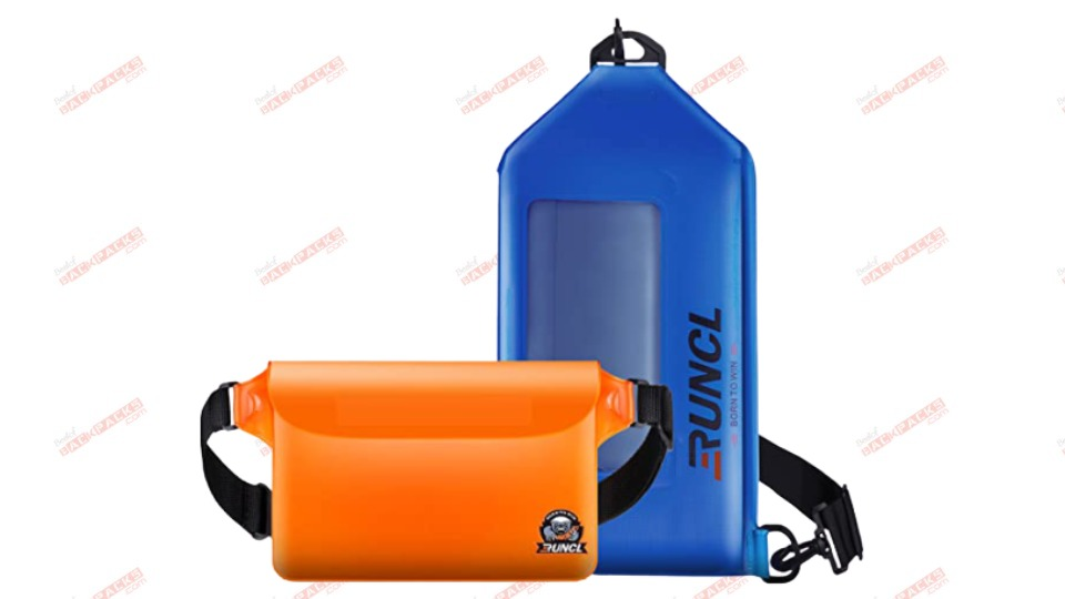 Waterproof pouches for swimming